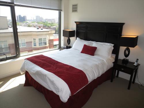 Bedroom - Lux 1 BR in the Heart of Fenway - Boston - rentals