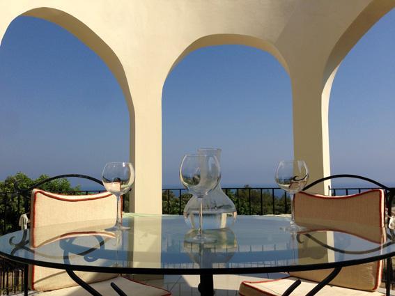 Terrace view - Amazing Villa Verde! - Ayios Amvrosios - rentals