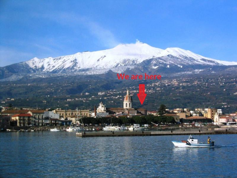 The Etna and the sea - CASA MANDARINO: luxury house100 mt away to the sea - Riposto - rentals