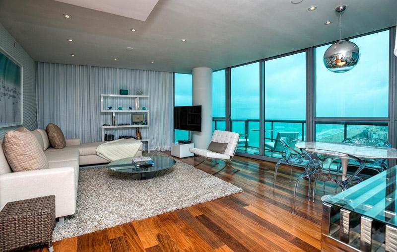 Setai Hotel 2 Bedroom Condo 38th Floor Ocean view - Image 1 - Miami Beach - rentals