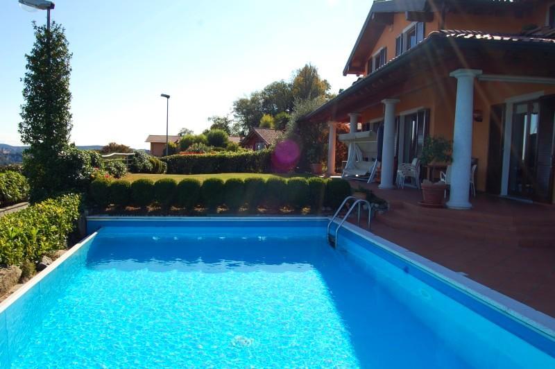 Villa Bellavista, Meina Lake Maggiore - NORTHITALY VILLAS - Panoramic villa with pool and great lake view! - Meina - rentals