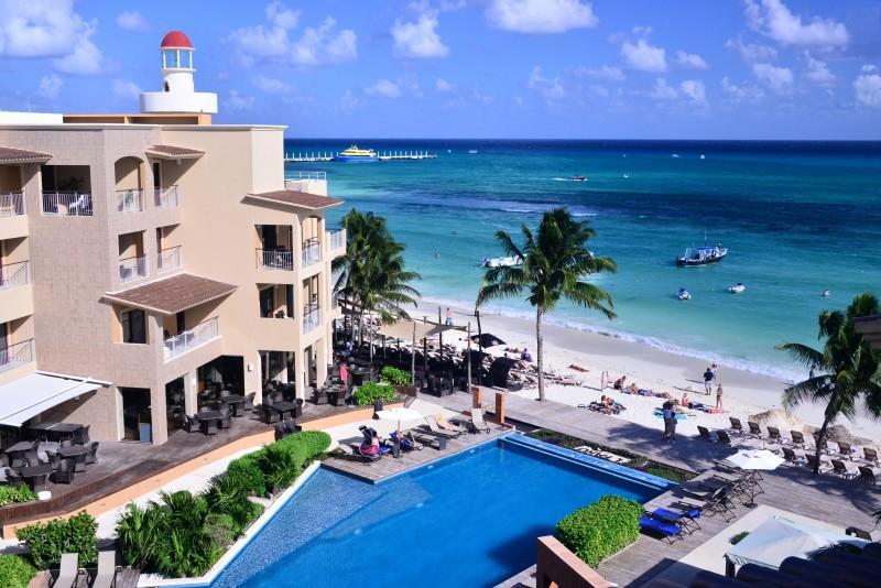 2 Bdrm Beachfront Gorgeous Rooftop Terrace EFR402) - Image 1 - Playa del Carmen - rentals