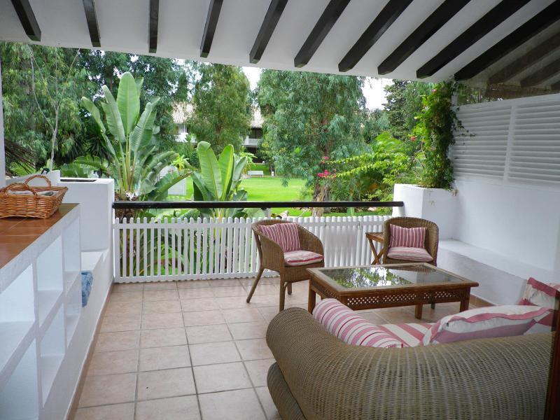 Terrace - Marbella- Puerto Banus, relax, comfort, luxury - Marbella - rentals