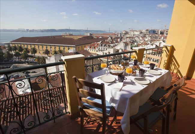 Amazing view over the Tagus River - Apartment with terrace and breahtaking view! - Leiria - rentals