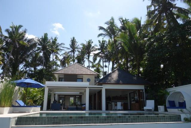 Over view of the villa - Ubud: luxurious elegance in rice field setting - Ubud - rentals