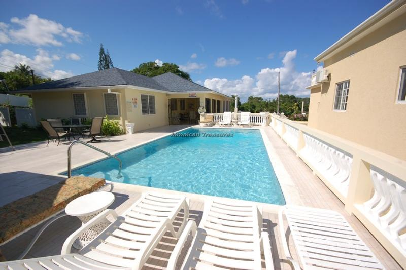 BEACH ACCESS! STAFF! POOL!DayO and Day Light Villa - Image 1 - Duncans - rentals