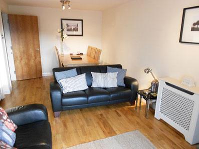 Stylish living room - Marine Apartment, Ballycastle - Free WiFi - Ballycastle - rentals