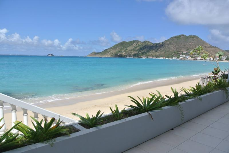 Located drectly on the beach - Paradis Caraibes 2BR On the Beach! - Grand Case - rentals