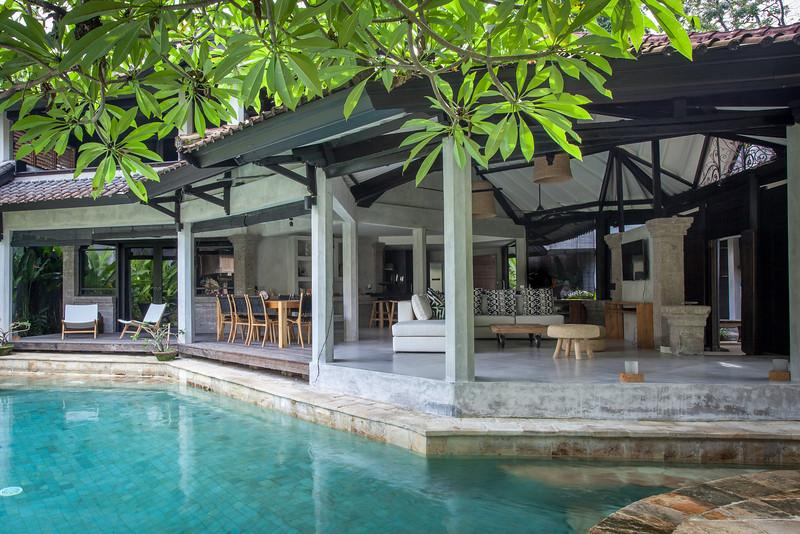 Open living / dining area adjacent to pool - Villa Fi - Simply Stunning - Seminyak - rentals
