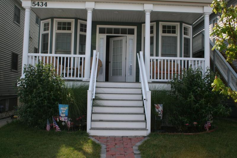 Front Porch - Beautiful Ocean City Southend1st Floor Condo rental - Ocean City - rentals