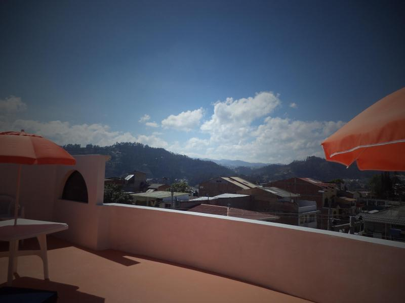 View from the terrace - Great views and BBQ!! - Cuenca - rentals