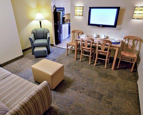 Living Room/Kitchen - Virginia Beach Resort Condo - Virginia Beach - rentals