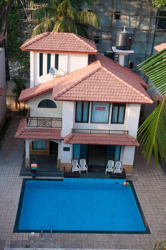 SNS beach holiday villa with private pool - SNS beach holidayvilla with private pool Calangute - Calangute - rentals