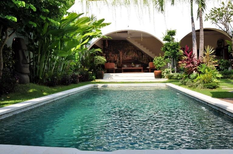 Villa & Pool overview - Seminyak Residence, Luxury 3 Bed/4 Bath, Downtown - Seminyak - rentals