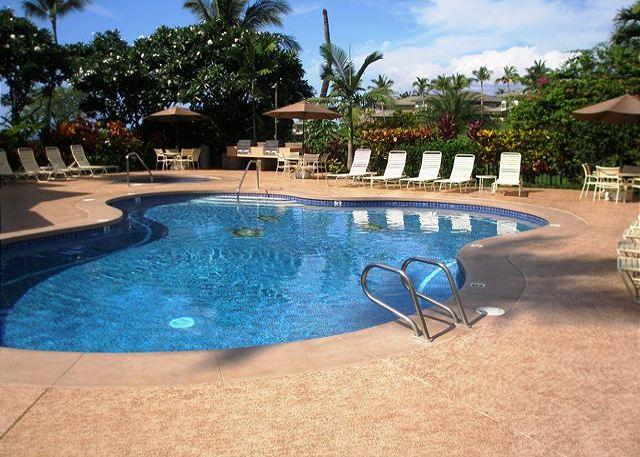 Wailea Grand Champions 2 Pool, Spa, and Barbecue Areas - Grand Champions #143 is a 3 bedroom 2 bath renovated SUMMER SPECIAL $299 - Wailea - rentals