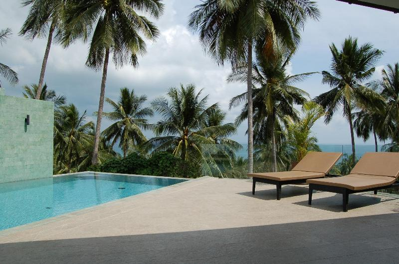 Infinity pool and beautiful sea and jungle views - Sawadee Sea View  - 2 bed villa with private pool - Koh Samui - rentals