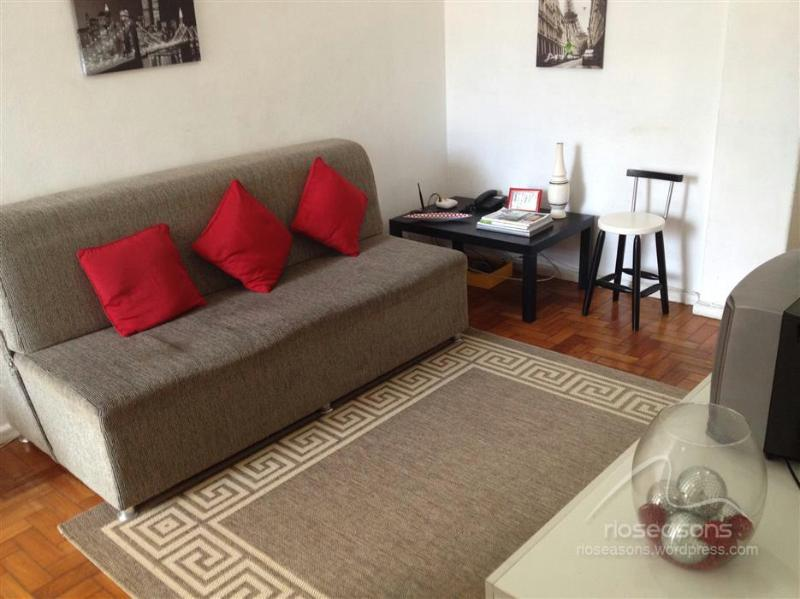 Sofa-bed in the living room. - 1 Bedroom Apt In Ipanema! Amazing location! - Rio de Janeiro - rentals