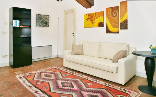 living room - Lucca: romantic attic in a very tuscany style - Lucca - rentals