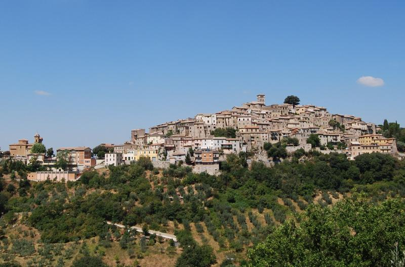 Casperia, Resting on a Hilltop 40 miles North of Rome - Il Sogno: Serene Elegance-Medieval Town near Rome - Casperia - rentals