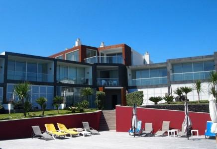 Building Exterior - Marina Mar II: Three-Bedroom House with Ocean View - Vila Franca do Campo - rentals
