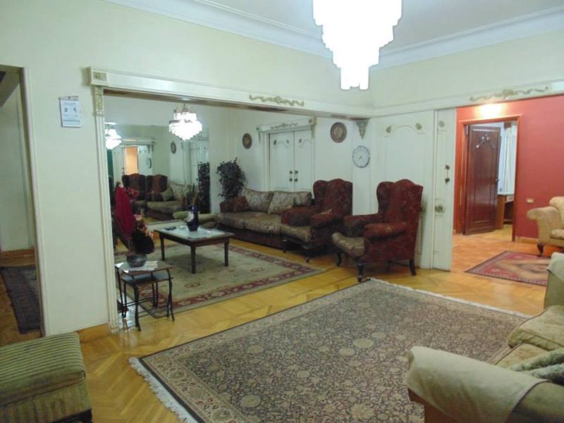 Reception. (website: hidden) - Cairo Furnished Apartment, Mohandesen Zamalak Club - Cairo - rentals