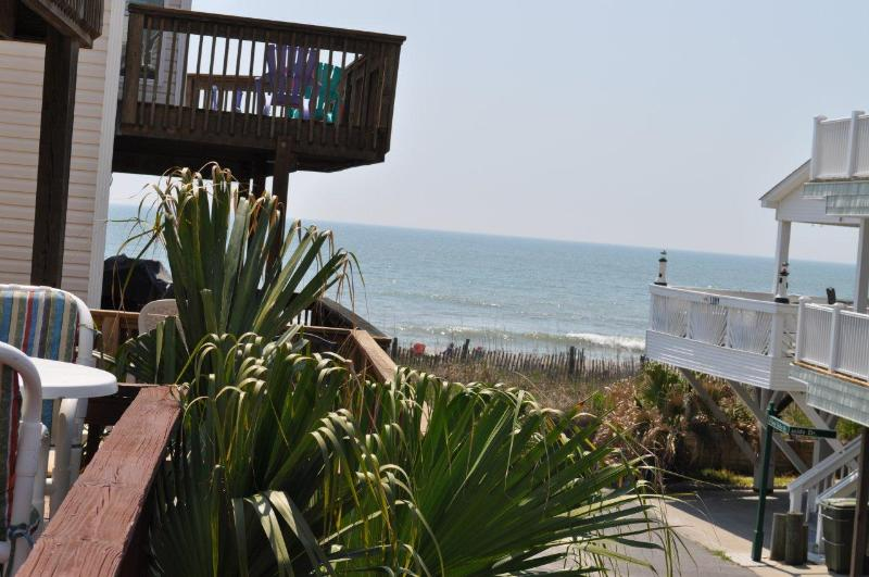 View from Deck - Ocean View House - 60 STEPS TO THE BEACH!!! - Myrtle Beach - rentals