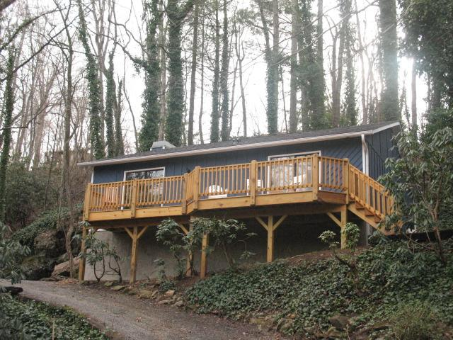 Rock House w/ Deck - The Rock House / Driftwood Cabins - Asheville - rentals