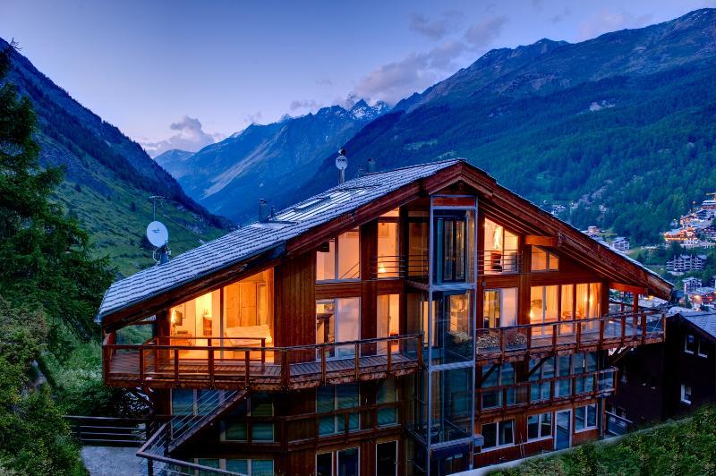 Summer - 260m2 penthouse - Heinz Julen Penthouse - in designer magazines - Zermatt - rentals