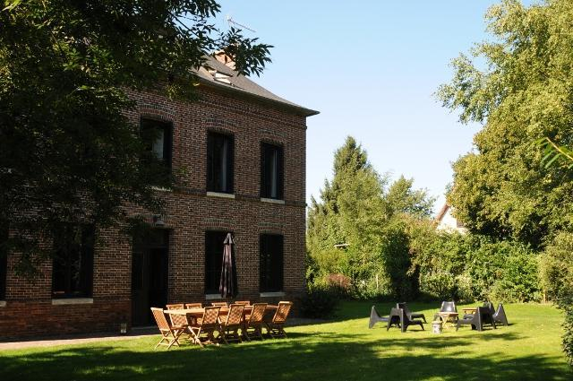 "Nice garden - Superb Cottage ""Champ de Bataille"" with outdoor heated swimming pool - Le Neubourg - rentals"