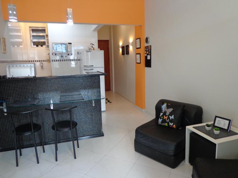 DINING ROOM - COPACABANA - COMFORTABLE STUDIO - Rio de Janeiro - rentals