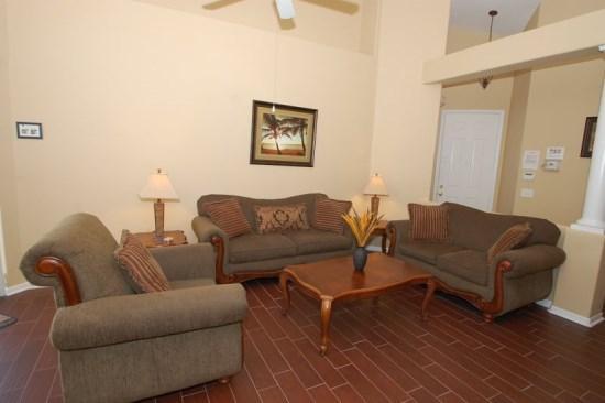 3 Bedrooms, 2 Baths Tuscan Hills home with Gameroom! - Image 1 - Orlando - rentals