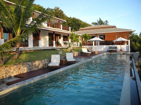 Lord Jim Retreat 18m lap chlorine-free pool  Koh Phangan Seaside Private luxury villa  - Lord Jim Retreat - Breathtaking Private Villa - Koh Phangan - rentals