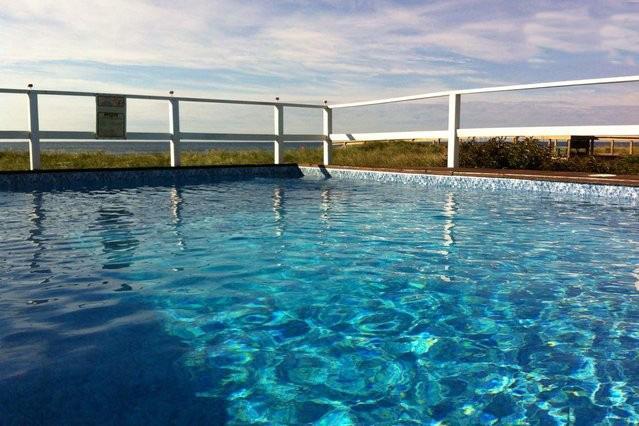 Large Heated Pool Overlooking Ocean - Cherry Grove Oceanfront with Heated Pool - Cherry Grove - rentals