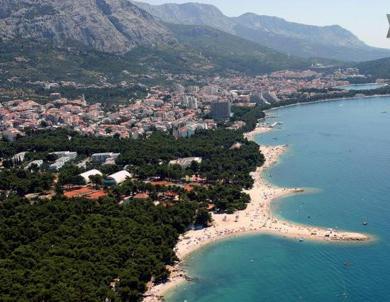 PANORAMA 100 m from Bungalow - Apartment Bungalow Wi-Fi+2 bikes 100m sea in court - Makarska - rentals