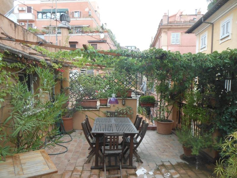 70 sq meter terrace! - Charming 3 bedroom duplex with terrace - Rome - rentals