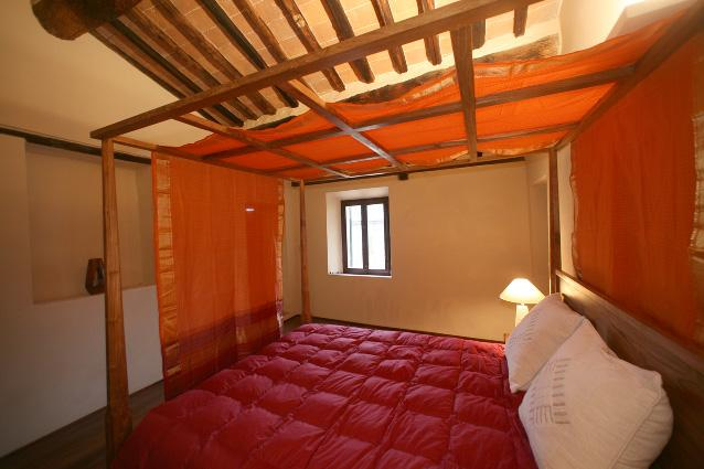 Bedroom Giotto - Villa Amedeo- Giotto apartment . near Siena - Brenna - rentals