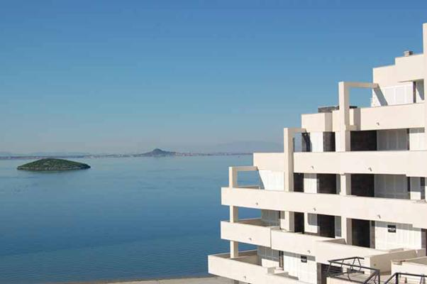 Building and sea view! - Dream Away La Manga - Stunning sea views - La Manga del Mar Menor - rentals
