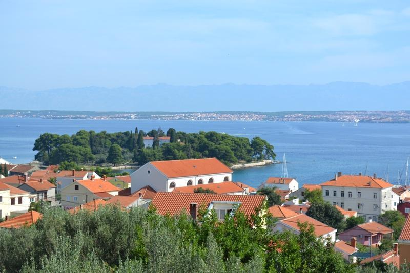 panoramic pic of islet Galevac - Preko - Apartment Capperi 'S' Preko island Ugljan (Zadar) - Sveti Martin na Muri - rentals