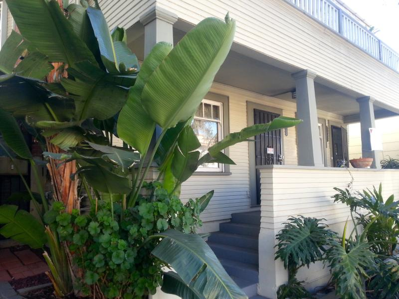 Front of the house - Centrally Located Downtown Apartment (Golden Hill) - Pacific Beach - rentals