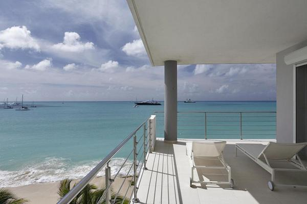 View from the Wrap Around Terrace - LUXURIOUS 2 BEDROOM CONDO ON SIMPSON BAY - Simpson Bay - rentals