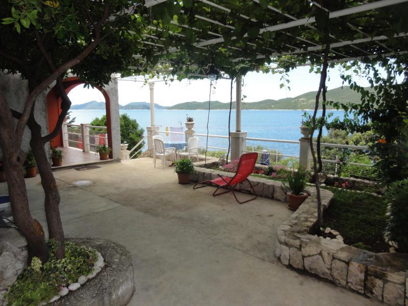 terrace - Villa Planika house to rent Ratac - Dubrovnik area - Dubrovnik - rentals