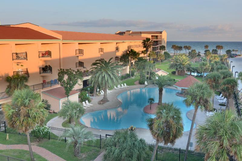 View from Galveston Tropical Breezes - Galveston Tropical Breezes - 3 pools and hot tub - Galveston - rentals