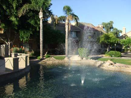 Water features throughout the community - Enjoy luxury in our N Scottsdale condo! - Scottsdale - rentals