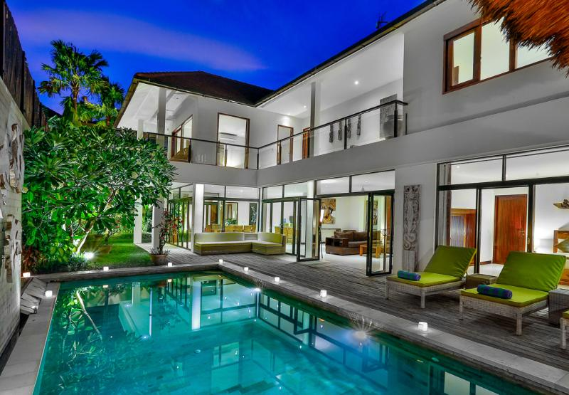 villa view - Bali Villas R us - 4 Bedroom large villa in Seminyak - Seminyak - rentals
