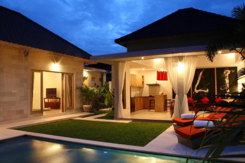 View of the villa - Briana Villa- walking Distance To the Beach Chic Villa-Seminyak-Bali - Bali - rentals