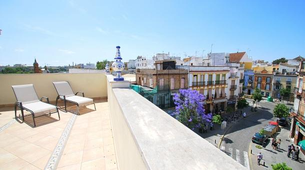 [653] Fantastic apartment with terrace in Triana - Image 1 - Seville - rentals