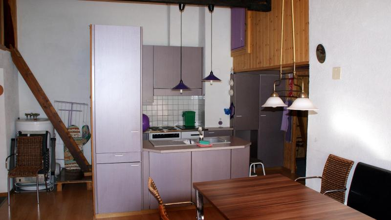 Dining area and well equipped kitchen - Saxeten Mountain Valley Village - Saxeten - rentals