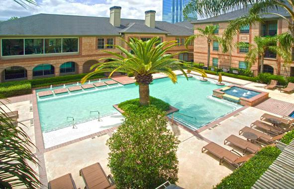 Swimming Pool - Furnished Apartment Upper Kirby Houston - Houston - rentals