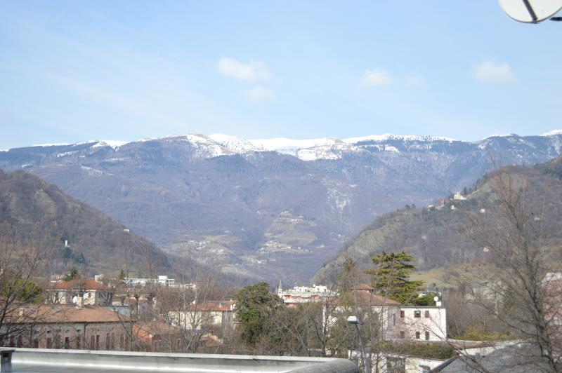 View from the apartment - Elegant apartment with 1 bedroom and terrace in Vittorio V. city center - Vittorio Veneto - rentals