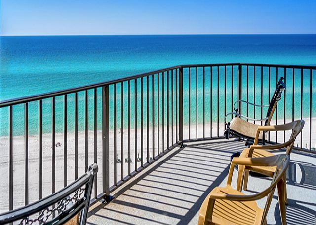 ENJOY YOUR MORNING COFFEE HERE - Cute Beachfront Condo for 4, Open Week of 3/28 - Panama City Beach - rentals